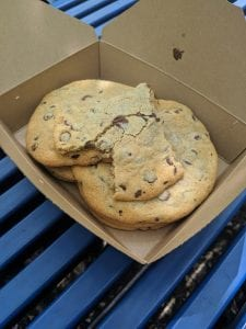 A pile of cookies in a box as seen on Off the Beaten Path Food Tours' Fenway Neighborhood Food Tour.