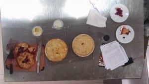 pie baking class