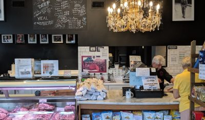 The interior of a cafe as seen on Off the Beaten Path Food Tours' Roslindale Food Tour.