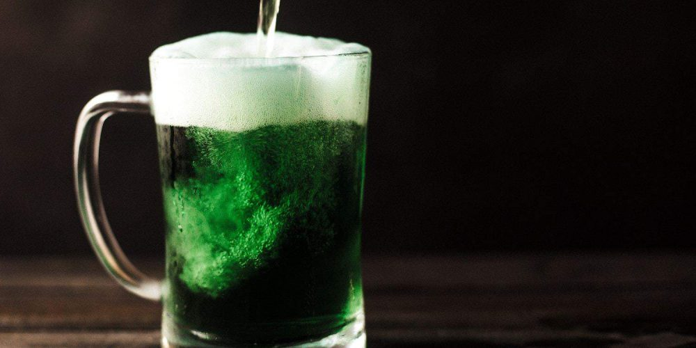 St Patricks Day Green Beer