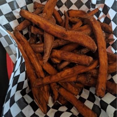 sweet potato fries local burger northampton